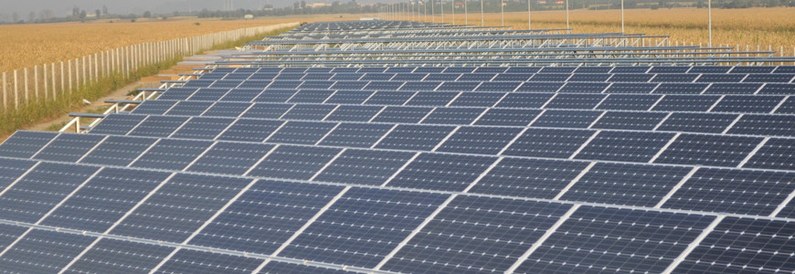 Parc fotovoltaic de 1MW la Baicoi