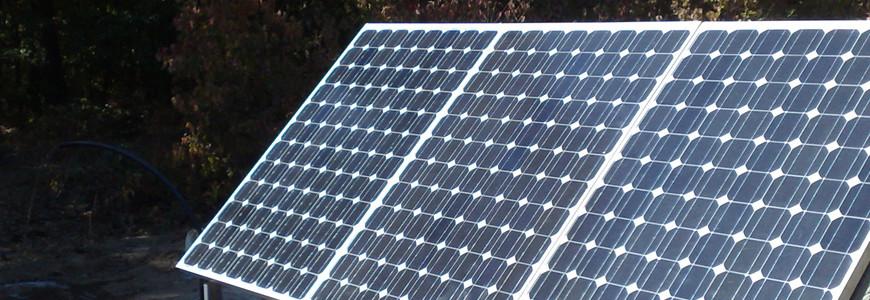 Pompe solare pentru irigații la Singureni
